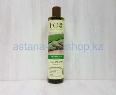 Гель для душа 'Бодрость' (масло оливы, алоэ вера, зеленый чай) — 350 мл