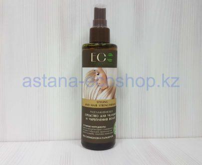Средство для укладки и укрепления волос (гибискус, жожоба) — 200 мл