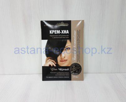 Крем-хна иранская с репейным маслом (цвет 'черный') — 50 мл