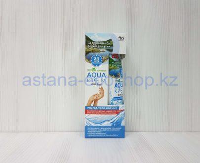 Аква-крем для рук 'Ультра увлажнение' с водой Камчатки (красные водоросли, алоэ вера, пшеницы) — 45 мл