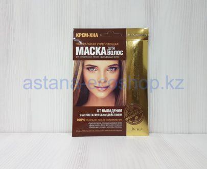 Маска для волос от выпадения с репейным маслом и хмелем (для ослабленных, тонких и выпадающих волос) — 30 мл