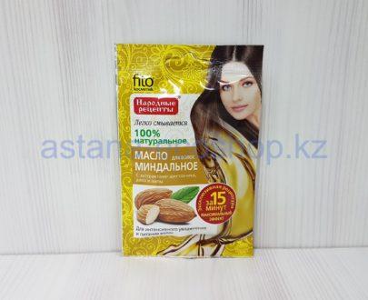 Масло для волос 'Миндальное' (шиповник, алоэ, липа), увлажнение и питание (за 15 минут) — 20 мл