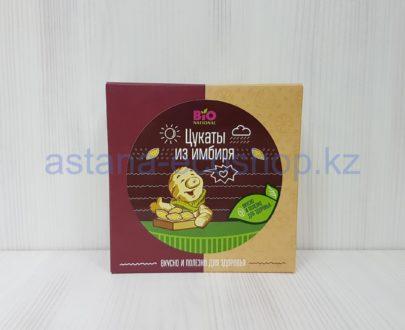 Цукаты из имбиря (тростниковый сахар) — 100 г