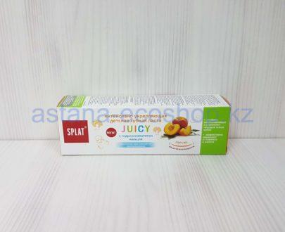 Детская зубная паста 'Juicy', персик (для всех возрастов) — 35 мл