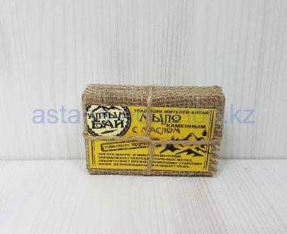 Мыло с каменным маслом (ручная работа) — 80 г