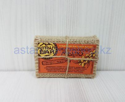 Мыло облепиховое (сделано вручную) — 80 г