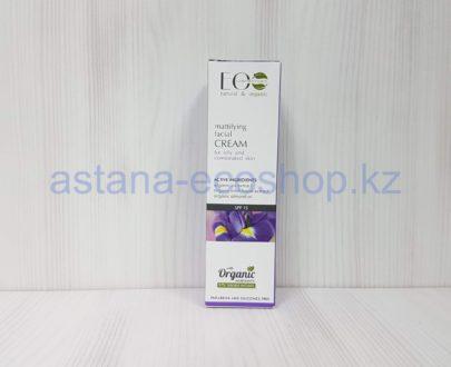 Крем для лица матирующий, для проблемной и жирной кожи (ирис, гамамелис, масло миндаля) — 50 мл