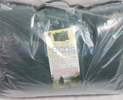 Подушка из околоядровой пленки кедрового ореха (зеленая) — 50х70 см (3-4 кг)