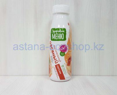 Йогурт овсяный (персик), пробиотик + пребиотик (веган) — 330 мл