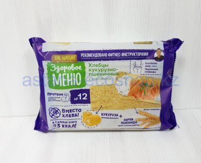 Хлебцы (чипсы) № 12, кукурузно-пшеничные с протеином — 90 г