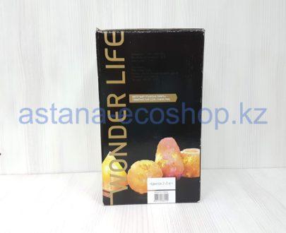 Солевая лампа 'Цветок' (с электрическим шнуром и лампочкой), 2-3 кг (22,5x13x13 см)