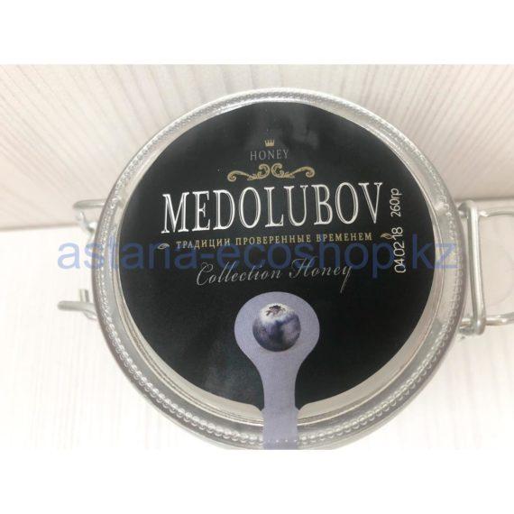 Крем-мед 'Medolubov' с черникой — 260 г