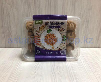 Замороженные пельмени с нутом (веган), ручная лепка — 800 г