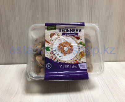 Замороженные пельмени с чечевицей (веган), ручная лепка — 800 г