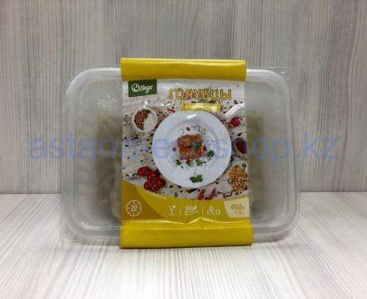 Замороженные голубцы с чечевицей (веган), ручная лепка — 450 г