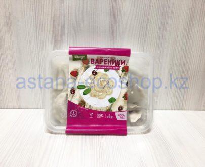 Замороженные вареники с вишней и тофу (веган), ручная лепка (без глютена) — 400 г