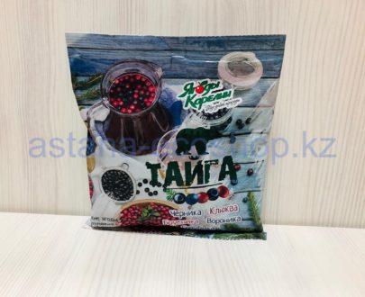 Дикие ягоды 'Тайга' (черника, брусника, клюква, вороника, голубика), замороженная — 300 г