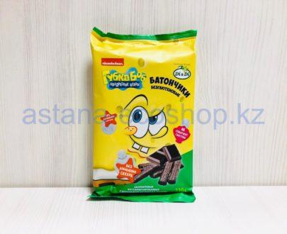 Батончики амарантовые с шоколадной начинкой в глазури (без сахара, без глютена) — 110 г