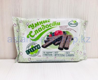 Батончики амарантовые лесная ягода в глазури (без сахара, без глютена) — 110 г