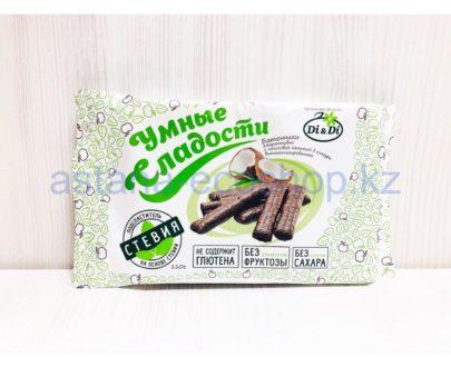 Батончики амарантовые с кокосовой начинкой в глазури (без сахара, без глютена) — 100 г