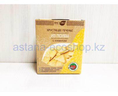 Хрустящее печенье из полбы с кунжутом — 170 г