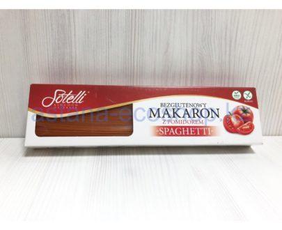 Макароны 'Sotelli', спагетти помидор (кукурузная мука), без глютена — 400 г