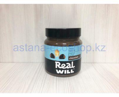 Арахисовая паста с шоколадом (без сахара) — 500 г