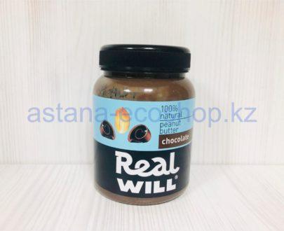 Арахисовая паста с шоколадом (без сахара) — 330 г