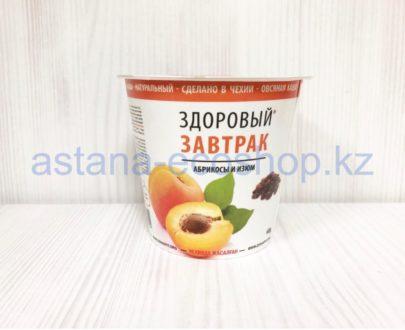 Каша овсяная 'Здоровый завтрак', абрикосы и изюм (без глютена, веган, без лактозы) — 68 г