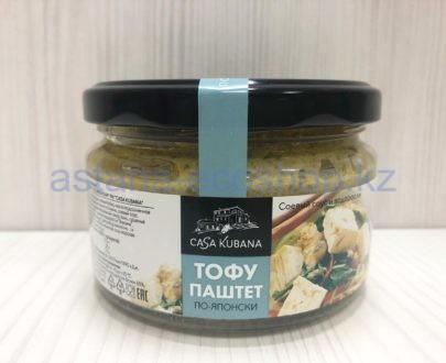 Тофу-паштет японский с соевым соусом и водрослями — 200 г