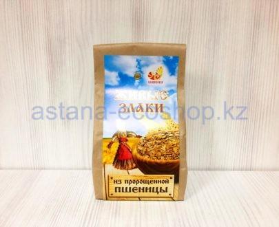 Живые злаки из пророщенной пшеницы — 500 г