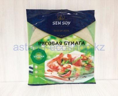 Рисовая бумага — для приготовления спринг роллов и блинчиков нем — 100 г