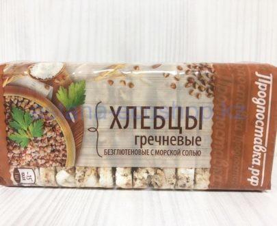 Хлебцы гречневые с морской солью (без глютена) — 60 г