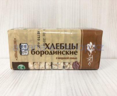 Хлебцы бородинские с морской солью — 60 г