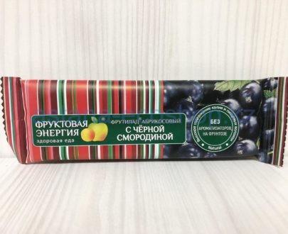 Батончик 'Фрутилад' абрикосовый с черной смородиной (без сахара) — 30 г