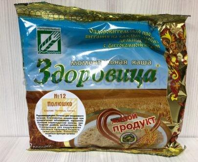 Моментальная каша 'Здоровица' №12 'Полюшко' — 200 г (7 порций)