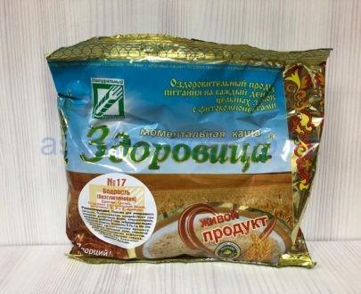 Моментальная каша 'Здоровица' №17 'Бодрость' (без глютена) — 200 г (7 порций)