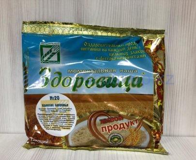 Моментальная каша 'Здоровица' №20 'Компас здоровья' — 200 г (7 порций)