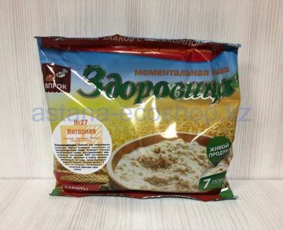 Моментальная каша 'Здоровица' №27 'Янтарная' — 200 г (7 порций)