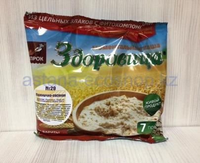 Моментальная каша 'Здоровица' №29 'Пшенично-овсяная' — 200 г (7 порций)