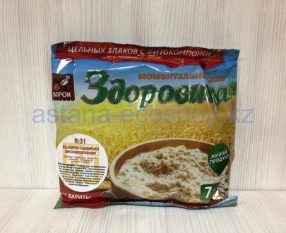 Моментальная каша 'Здоровица' №31 'Пшенично-тыквенная' (антипаразитарная) — 200 г (7 порций)