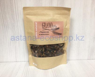 Мультизлаковая гранола 'Чернослив в шоколаде' (без сахара) — 200 г