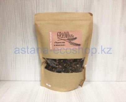 Мультизлаковая гранола 'Чернослив в шоколаде' (без сахара) — 500 г