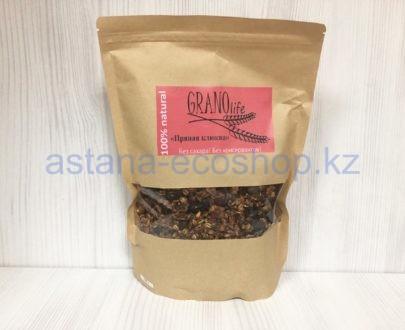 Мультизлаковая гранола 'Пряная клюква' (без сахара) — 500 г