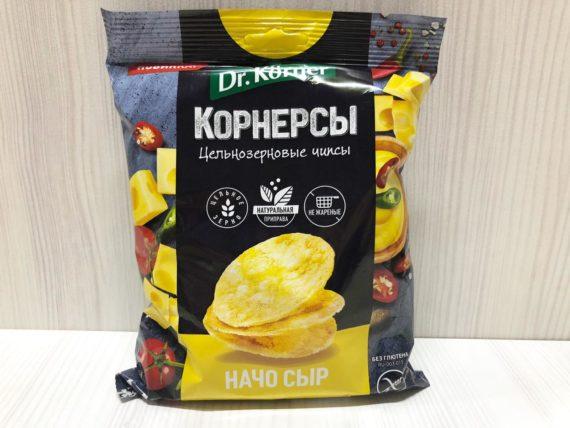 Чипсы цельнозерновые 'Начо сыр' — 50 г
