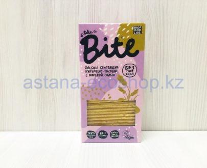 Хлебцы хрустящие кукурузно-рисовые с морской солью (без сахара, без глютена) — 150 г