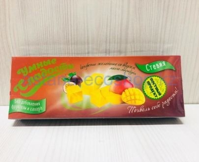 Желейные конфеты 'Манго Маракуйя' (без сахара, без глютена) — 90 г