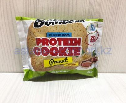 Печенье BombBar протеиновое, арахис (без сахара) — 40 г