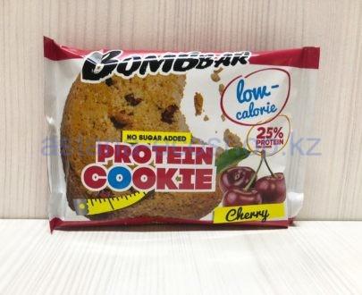 Печенье BombBar протеиновое, вишня (без сахара) — 40 г