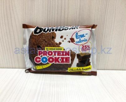 Печенье BombBar протеиновое, шоколад брауни (без сахара) — 40 г